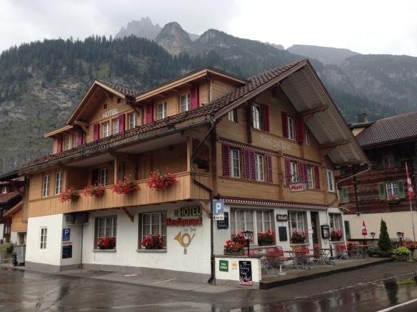 Hotel zur Post in Kanderstag