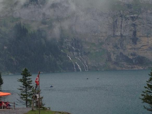 A few of the waterfalls feeding Oechinensee