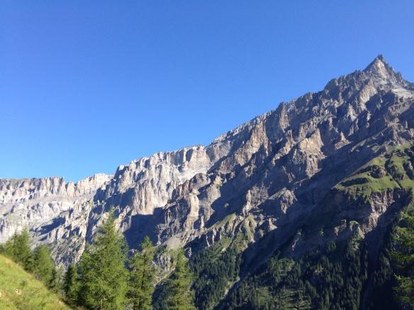 Wall above Selden, Switzerland