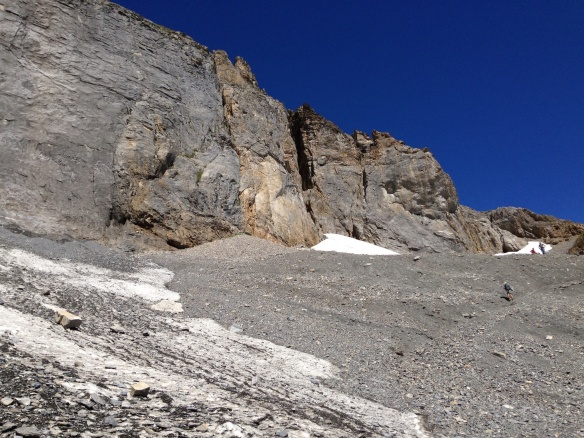 Lotschen glacier