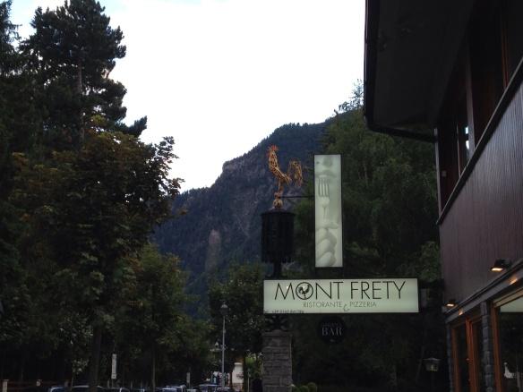 Mont Frety, Courmayeur