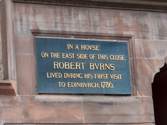 Robert Burns, widely regarded as the national poet of Scotland