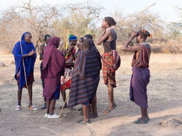 Mang'ati musicians/dancers.