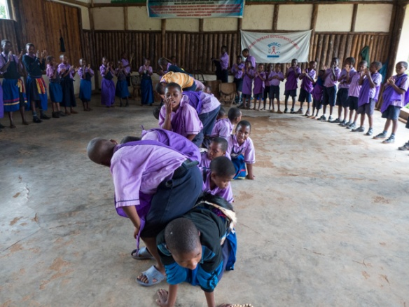 There was a school for orphans nearby, and they performed several dances for us.